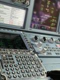 Airbus cockpit stock photos