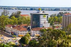 mCelkontor i Maputo Arkivbilder