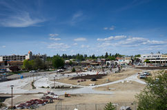 Mceuen park approaches grand reopening after extensive renovations 5-14-14 Royalty Free Stock Photos