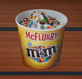 McFlurry advertisement Stock Image