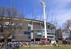 MCG AFL Australia Fotografie Stock Libere da Diritti