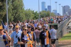 MCG AFL Australia Fotografie Stock