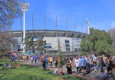 MCG AFL Australia Immagine Stock Libera da Diritti