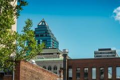 1501 McGill College Stock Photo