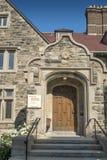McGill Faculty of Medecine entrance Royalty Free Stock Photos