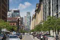 McGill street Montreal Stock Photography