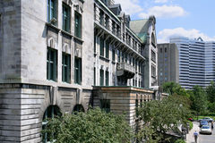 McGill University, Montreal Stock Photography