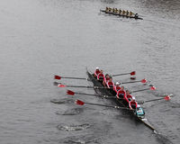 McGill University Women's Crew Stock Photo
