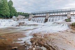 McGowan Falls in Grey County of Durham, Ontario Stock Photos