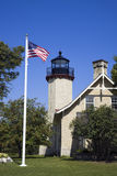 McGulpin's Point Lighthouse Stock Photo