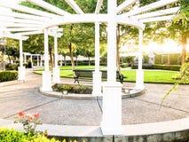 McHenry trädgård i Modesto California royaltyfria foton