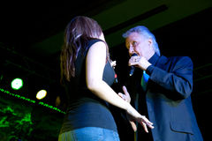 McKenna and Bill Medley Royalty Free Stock Images