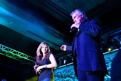 Mckenna and Bill Medley Royalty Free Stock Photo