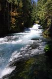 The Mckenzie River in Western Oregon Royalty Free Stock Photography