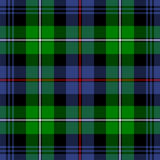 McKenzie Tartan Royalty Free Stock Photo