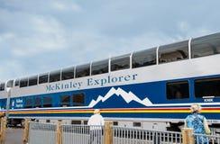 McKinley-Forscher Train Lizenzfreies Stockbild