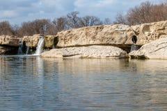 McKinney cai Austin Texas Fotografia de Stock Royalty Free