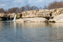 McKinney faller Austin Texas Royaltyfri Fotografi