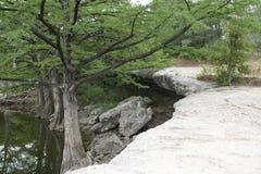 McKinney faller Texas State Park Arkivbild