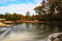 McKinney Falls in Texas royalty free stock images