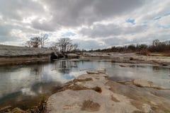 McKinney se cae Austin Texas Imagen de archivo libre de regalías