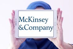 McKinsey & Company logo Royalty Free Stock Photography
