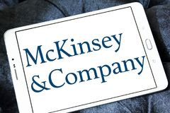 McKinsey & Company logo Royalty Free Stock Photos
