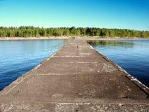 McLain delstatsparkstrand Michigan Royaltyfri Bild