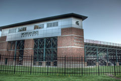 McLane baseballstadion Arkivfoto