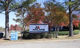 mcLane Firma, Memphis, TN zdjęcie stock