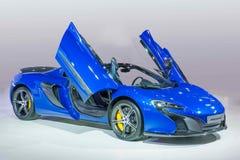 McLaren bilserie Arkivbild