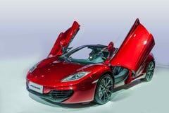 McLaren bilserie Royaltyfri Fotografi
