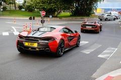 McLaren 540c royaltyfri bild