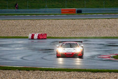 McLaren 12C GT3. Race car photographed during Blancpain GT Series at Slovakia Ring, 23 August 2014 Stock Images