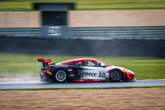 McLaren 12C GT3. Race car photographed during Blancpain GT Series at Slovakia Ring, 23 August 2014 Stock Image