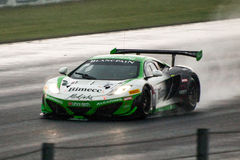 McLaren 12C GT3. Race car photographed during Blancpain GT Series at Slovakia Ring, 23 August 2014 Royalty Free Stock Images
