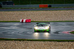 McLaren 12C GT3. Race car photographed during Blancpain GT Series at Slovakia Ring, 23 August 2014 Stock Photos