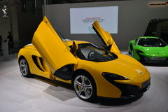 McLaren 625C sportscar Stock Images