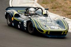 McLaren Can-Am racing car at speed Stock Photography
