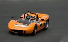 McLaren Can-Am racing car at speed Stock Photo