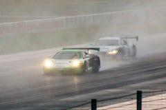 McLaren contro audi Fotografia Stock Libera da Diritti