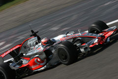 Mclaren f1 and kovalainen Stock Photo