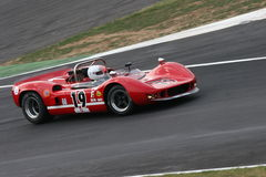 Mclaren gt. FIA Historic gt and prototype Race, held in Monza, Italy, the 6th of june 2010. The photo has been shooted at the Prima Variante curve Royalty Free Stock Photo