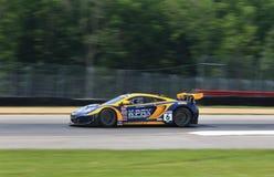 McLaren GT racing car Stock Photo