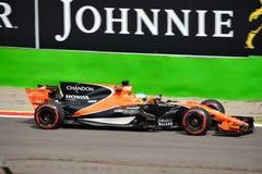McLaren Honda formuła jeden Obraz Stock