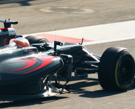 McLaren Honda Grand prix F1 2016 Photographie stock