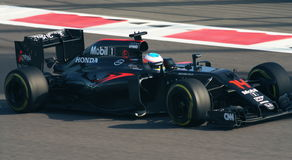 McLaren Honda Prix grande F1 2016 Imagem de Stock