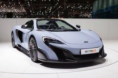 McLaren 675LT em Genebra Imagens de Stock Royalty Free