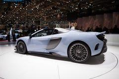 McLaren 675LT in Genève Royalty-vrije Stock Afbeeldingen