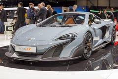 2015 McLaren 675LT Royalty Free Stock Photo